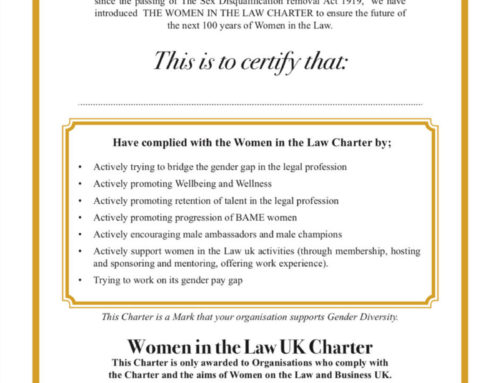 Women in the Law UK Charter of Excellence