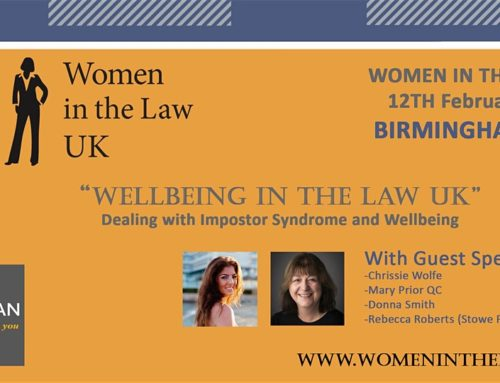 BIRMINGHAM – Wellbeing in The Law UK