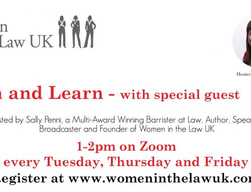 Thursday 28th Lunch and Learn with Carrie Eddins