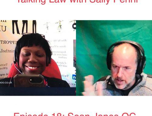 Episode 18: With Sean Jones QC