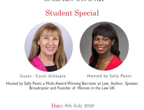 Wednesday 8th – Carol Gillespie STUDENT SPECIAL