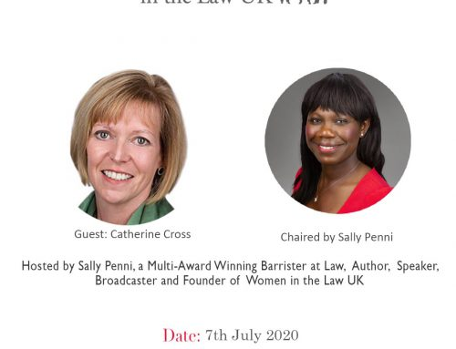 Tuesday 7th July Lunch and Learn – Catherine Cross