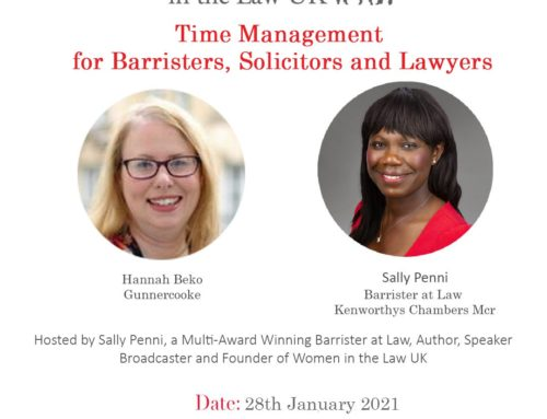 Thursday 28th January: Time Management for Lawyers with Hannah Beko