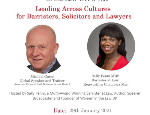 Friday 29th January: Leading Across Cultures with Michael Gates