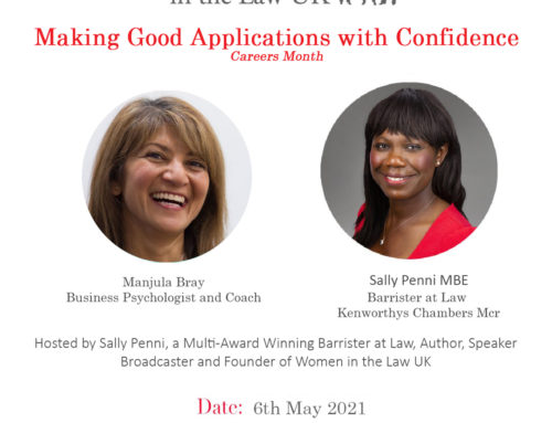 6th May – Making Good Applications with Confidence