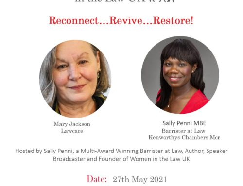 27th May – Reconnect…Revive…Restore!