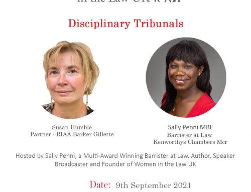 9th Sept – Disciplinary Tribunals