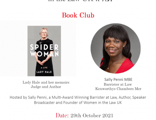 29th October – Book Club – Lady Hale
