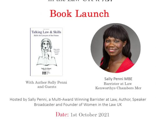1st October 1pm – Book Launch – Sally Penni MBE & Guests